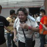 Спасатели ликвидируют последствия взрывов и пожара на юге Таиланда