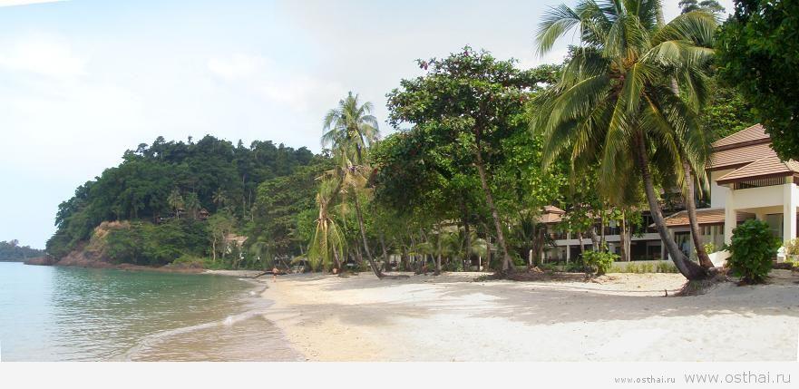 Пляж Лонели бич на острове Ко Чанг